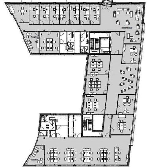 Grundriss Haus C Regelgeschoss