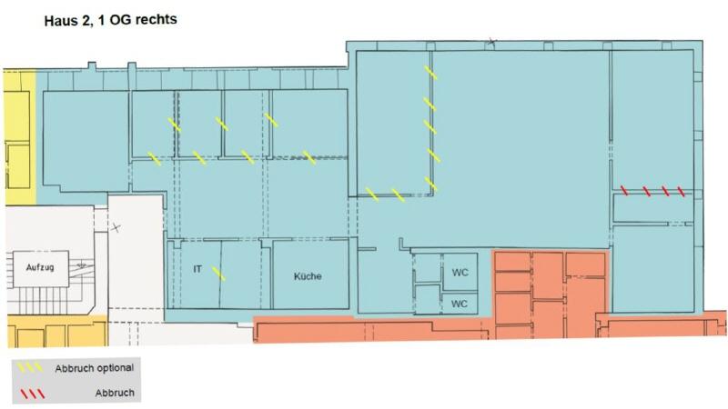 Grundriss 1 OG rechts 374 m²