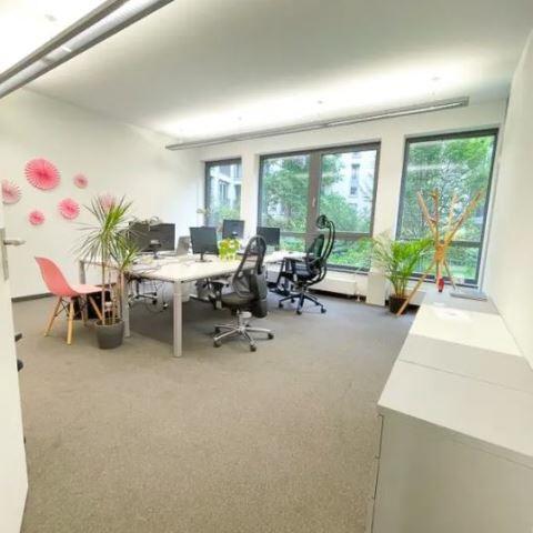 Büro zum Innenhof